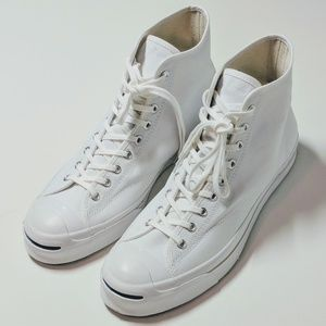 Converse Jack Purcell Signature high top.
